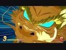 ドラゴンボール ファイターズ : 悟空(GT), 悟飯&ピッコロ Vs ヒット、ジレン&ビルス