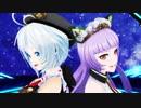 【MMD】シロちゃんとアジルスちゃんが音楽番組でコラボしたらしい。