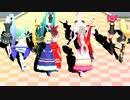 【東方&DOG DAYS MMD】Sweet Magic