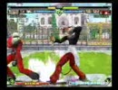 KOF MAXIMUM IMPACT REGULATION A 対戦動画その1
