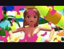 【MMD】おねがいダーリンを雪歩が踊ってみた【水玉コラ】