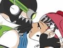 【手描きAPEX】オクライでキス唾【トレス】