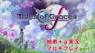 □■テイルズオブグレイセスfをマルチプレイ実況 part1【姉弟+a実況】