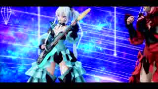 【MMD】コラボ参加動画ミクとテトにTell Your Worldを歌って弾いてもらいました。