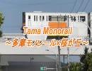 多摩モノレールの車両が桜が丘をマイルドにGO~!!