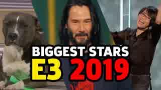 【E3 2019】人気になった5人のスタープレゼンター『犬』&『日本人女性』&『ハリウッド俳優』&『クッパ』&『お婆ちゃん』