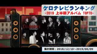 上半期アニソンランキング 2019年アルバム TOP70【ケロテレビランキング】
