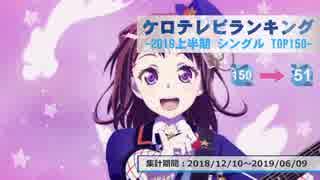 上半期アニソンランキング 2019年シングル 150-51【ケロテレビランキング】
