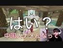 【喧嘩】ニセ中国人がVCで日本人を叩いてみた結果【WiiU版マイクラ】