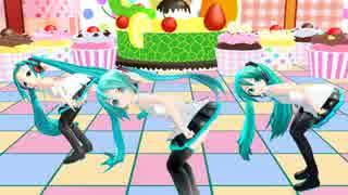 【MMD】ちびミク3人で ♪ パンツ脱げるもん! ♪  [1080P]