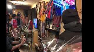 ファンタジスタカフェにて ベイスターズのパットンをみながら外国人投手の是非を語る