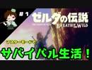 【実況】マスターモードでやりこみサバイバル生活!! Part1 【ゼルダの伝説 BotW】