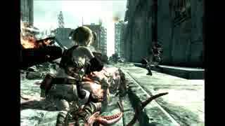 【fallout3:PC】昔作った動画が出てきた④:レ・エレファント地区市街地戦闘 (単発動画)