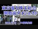 【2019年6月26日】東京電力株主総会開始前ダイジェスト【二の橋倶楽部】