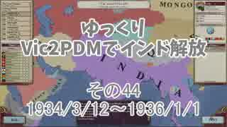[ゆっくり実況]ゆっくりVic2PDMでインド解放 その44[Victoria2 PDM]