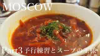 【ゆっくり】ロシア一人旅 モスクワ編 Part3 予行練習とスープの王様