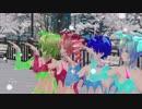 【MMD】サキュバスカルテットでポーカーフェイス【カメラ移動・字幕無】(1080p_60fps)