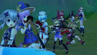 【四女神オンライン】ローアングルでアレが見えるゲームw その22