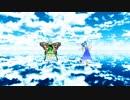 【第11回東方ニコ童祭】チルノとラルバがツギハギスタッカートを踊ってくれたよ~♪【東方MMD】