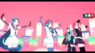 【MMD艦これ】五月雨・涼風・白露・江風・山風でCarry Me Off