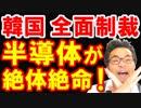 韓国が日本の対韓輸出規制&ホワイト国除外で韓国国内のフッ化水素半導体組立工場があと3週間の絶体絶命の危機?もうダメだなw【KAZUMA Channel】