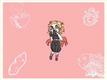【手描き】煉獄杏寿郎でせっこりんらぁん\\(≧▽≦)/【鬼滅の刃】