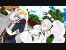 【MMD刀剣乱舞】キャットフード【鶴丸とまんば】