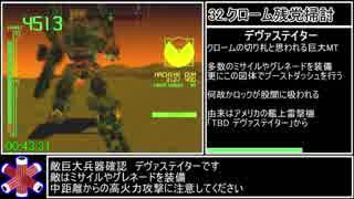 初代アーマード・コア RTA 50分28秒(WR) Part3/3