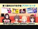 【第4部】ホロライブカラオケ女子会:AZKi, 夏色まつり, 赤井はあと, ときのそら【アフタートーク】