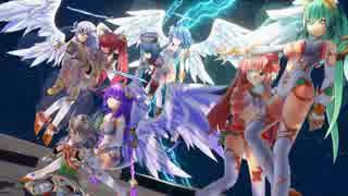 【四女神オンライン】ローアングルでアレが見えるゲームw その41