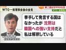 韓国:日本はWTOで負けるから協議呼び掛けに応えない...各国は韓国支持?