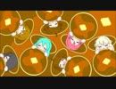ボカロ&UTAUオリジナル曲【ふかふかパンケーキのおふとんでねむりたいのうた】作詞:作曲:パンハロ/イラスト:パンハロ