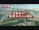 函館2019 五稜郭タワー展望台からの眺め