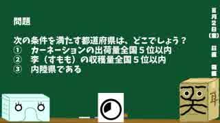 【箱盛】都道府県クイズ生活(64日目)2019年8月2日