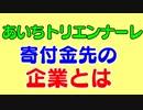 あいちトリエンナーレ表現の不自由作品で芸術監督津田大介氏謝罪もツイッター炎上。民間の寄付金先の企業とは