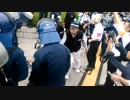 20190806広島慰霊の日、デモ隊が言ってた内容。