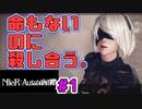 【NieR:Automata 2人実況】いまさら命もないのに、殺し合う【ニーアオートマタ】#1