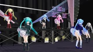 【MMD】 ゴシックあぴ達で ♪ shake it! ♪  [1080P]