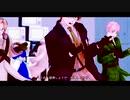 【APヘタリアMMD】春待ち+αでSNOBBISM【米+英加独/露+宇辺普】