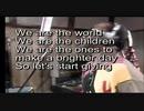 【全 部 俺】We Are The World - USA for Africa【モノマネ】