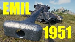 【WoT:EMIL 1951】ゆっくり実況でおくる戦車戦Part590 byアラモンド