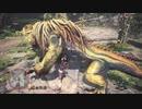 #1【モンスターハンターワールド】ドスジャグラス(上位)をザコ装備で狩る