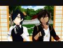 【MMD刀剣乱舞】チビ光忠とチビ伽羅で「キレキャリオン」~本丸での日常付~【カメラ配布】