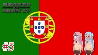 【HoI4】 ポルトガル世界帝国#5(終) 【VOICEROID実況】