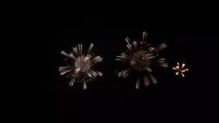 2019.8.17(山形)赤川花火 ドラマチックハナビ 「葵の御紋~鶴岡参上~」 前半