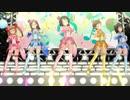 【デレステ眼鏡MV】comic cosmic【晶葉/マキノ/風香/真尋/春菜,1080p/3Dリッチ/60fps】