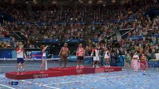 【世界の屁こき隊用】テニス ダブルス 参考動画  東京2020オリンピック The Official Video Game