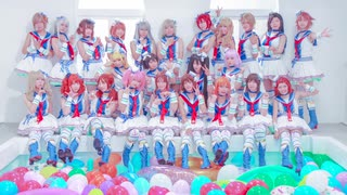 【デレマス】Paアイドル24人で「サマカニ!!」「SUN♡FLOWER」踊ってみた!
