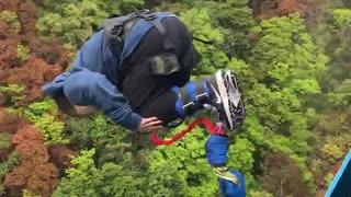 常設高さ日本一!竜神大吊橋バンジージャンプに挑戦!!