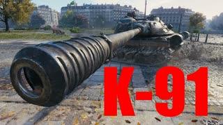 【WoT:K-91】ゆっくり実況でおくる戦車戦Part594 byアラモンド